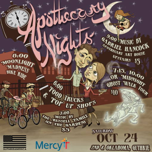 """One more night for """"Apothecary Nights"""""""