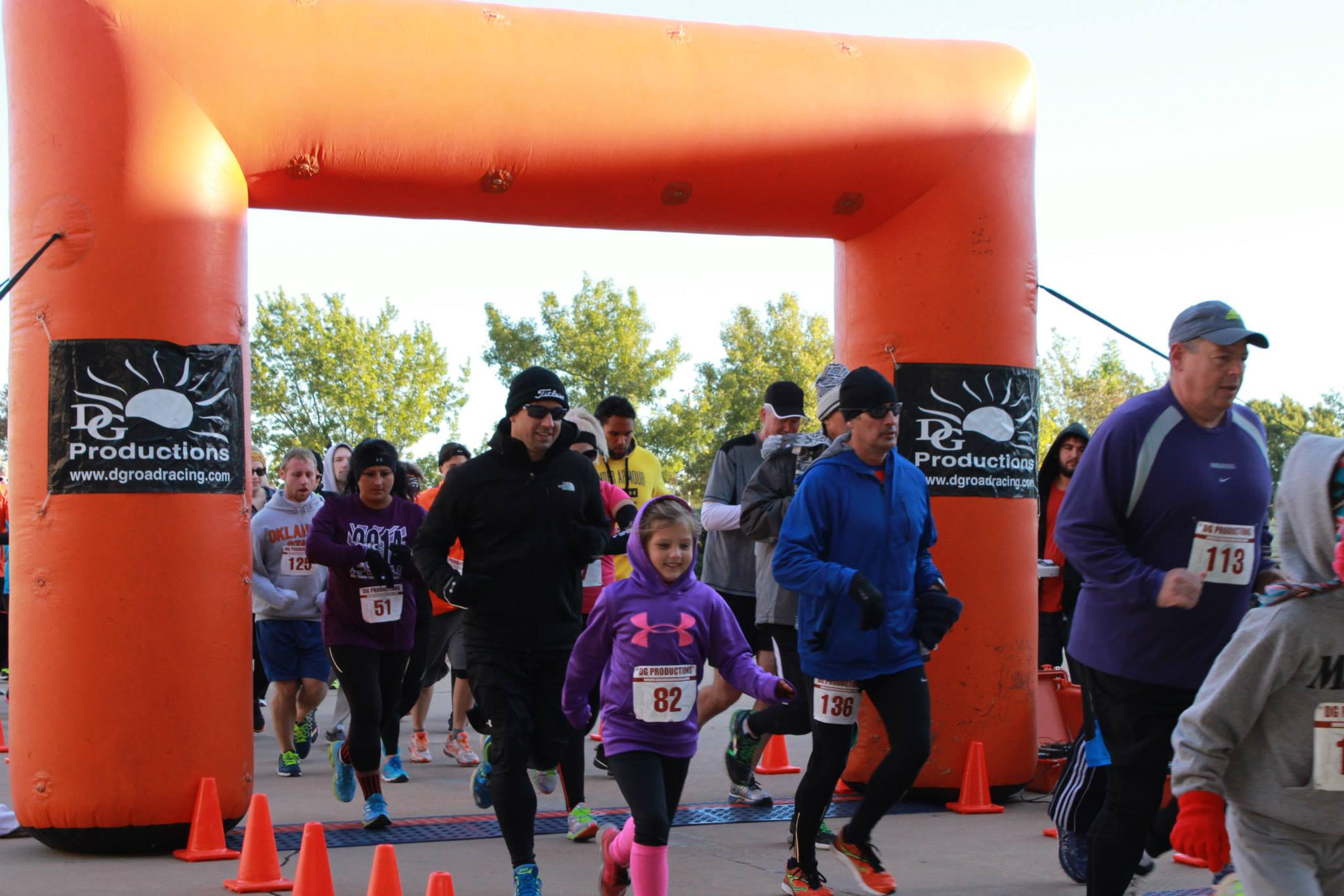 Blue Streak Run to raise money for scholarships and provide winter warmth