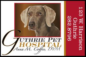 Ad Guthrie Pet Hospital