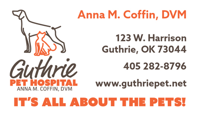 Ad Guthrie Pet Hospital New 2016