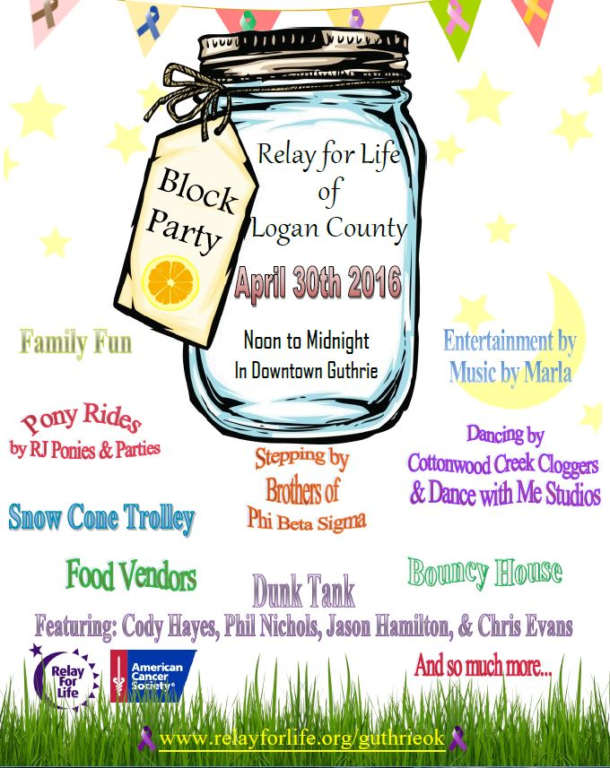 Relay for Life announces Block Party