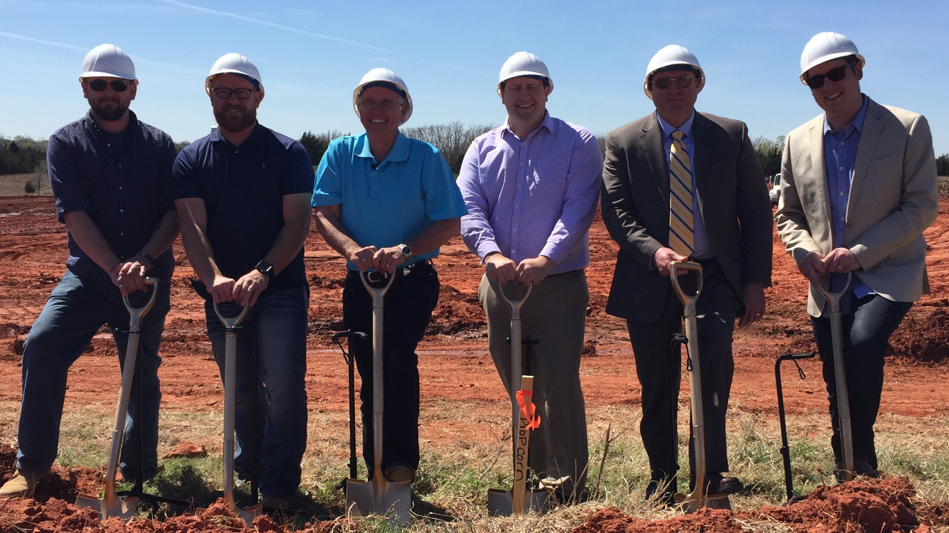 Groundbreaking ceremony held for Tractor Supply Co.