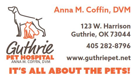 Ad Guthrie Pet Hospital 2016