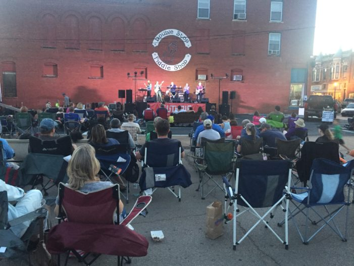 Video: Red Brick Nights officially underway in downtown Guthrie
