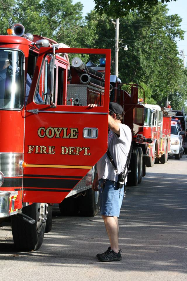 Video: Coyle Volunteer Fire Department passionate about serving their community