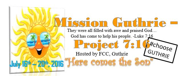 FCC set to host Mission Guthrie – Project 7:16 in July