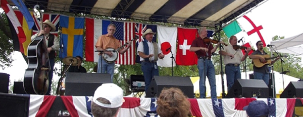 20th annual Bluegrass Festival officially under way