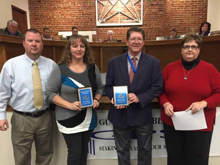 GPS recognizes Support and Certified Employees of the Month
