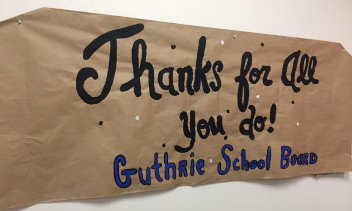Guthrie, MTC acknowledge school board members for National School Board Recognition
