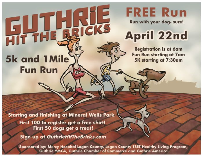 Guthrie Hit The Bricks: Free run with your dog