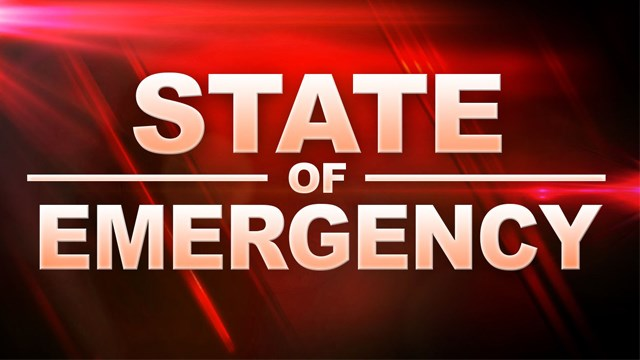 Governor declares State of Emergency due to wildfires, drought conditions