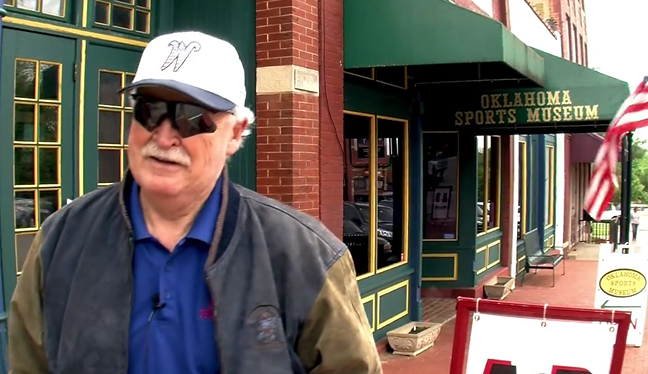 Video: Gene Stephenson returns home for 89er's Week