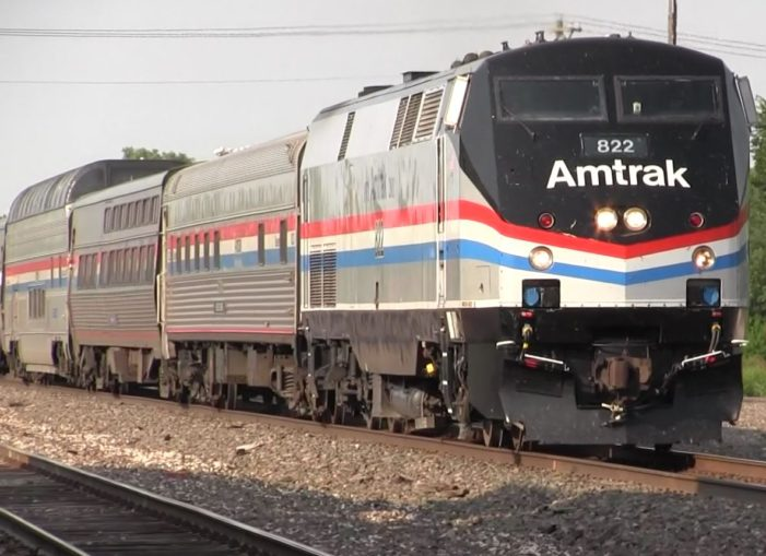 Guthrie continues to show support for Amtrak; KDOT conducting study