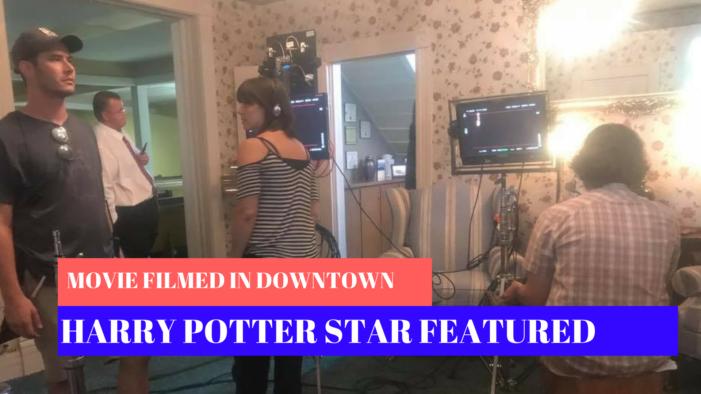 Harry Potter star, film crew take over Guthrie