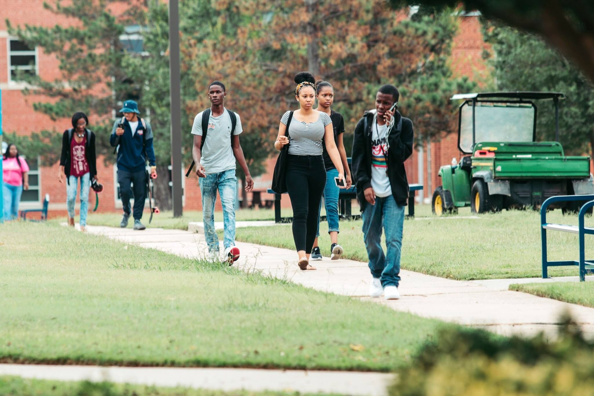 Langston University Welcomes Back Students Fourth Consecutive Year