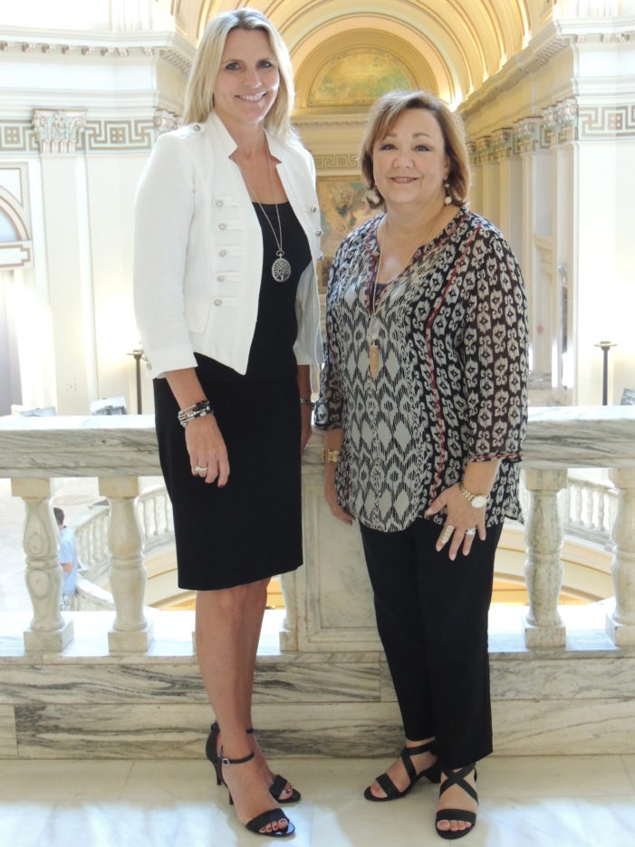 Sen. Griffin welcomes new executive assistant to the Oklahoma State Senate