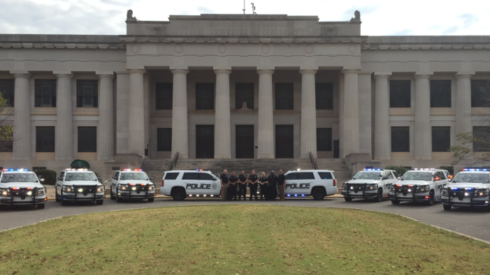 GPD rolls out their new fleet of patrol vehicles