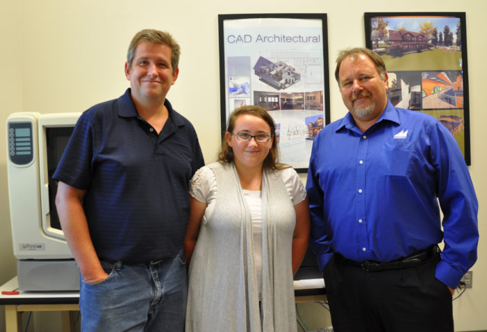 Like father Like daughter: CAD student starts Tech two decades after her father enrolled