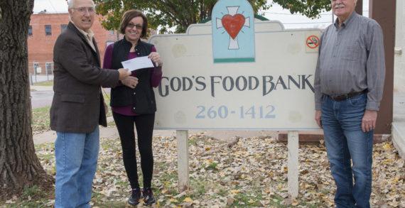 God's Food Bank receives grant