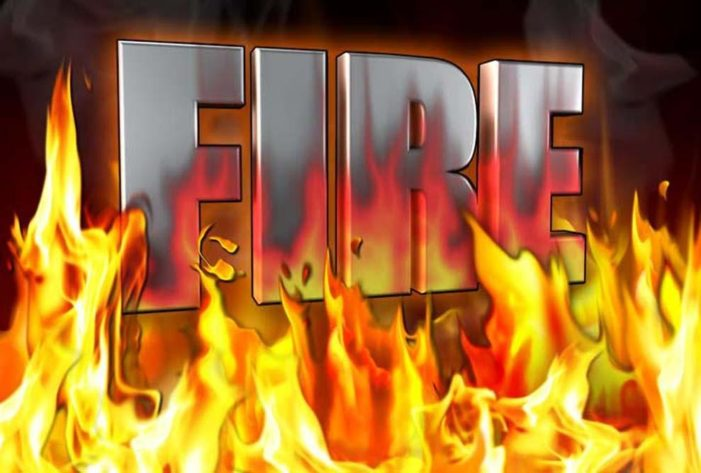 Fire destroys school's agriculture building in Cashion