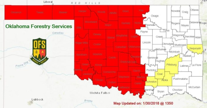 Governor issues burn ban for Logan County