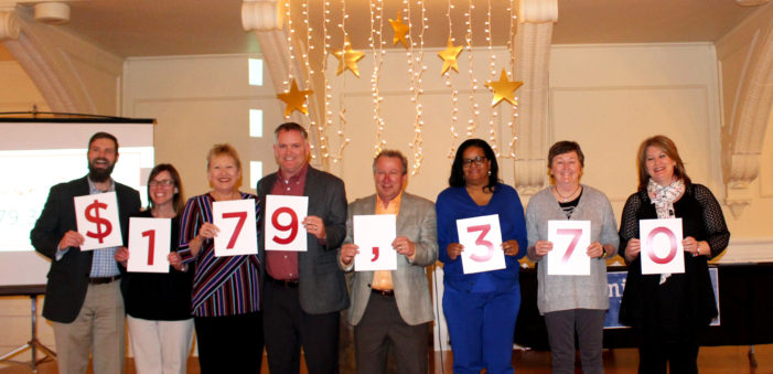 United Way celebrates success of 2017 fundraising campaign