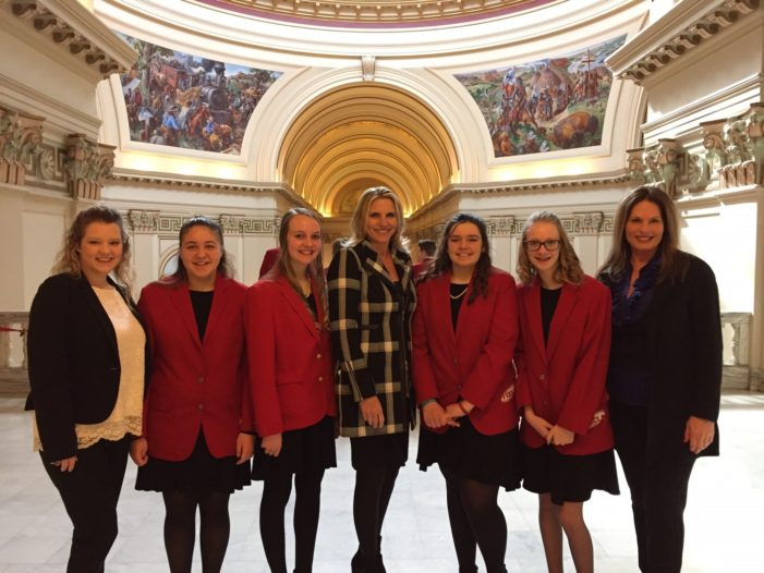 GJHS FCCLA visits the Capitol for FACS Day