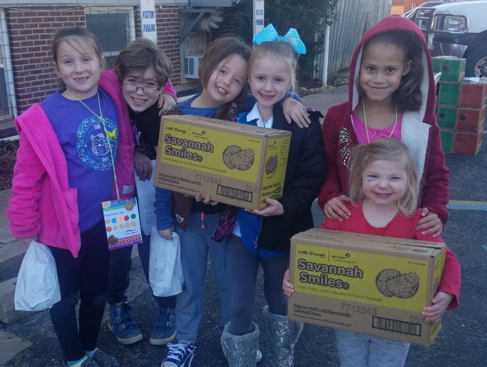 Girl Scouts learn important skills during cookie season