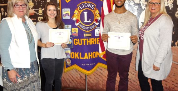 Lions Club recognizes GPS students of the month