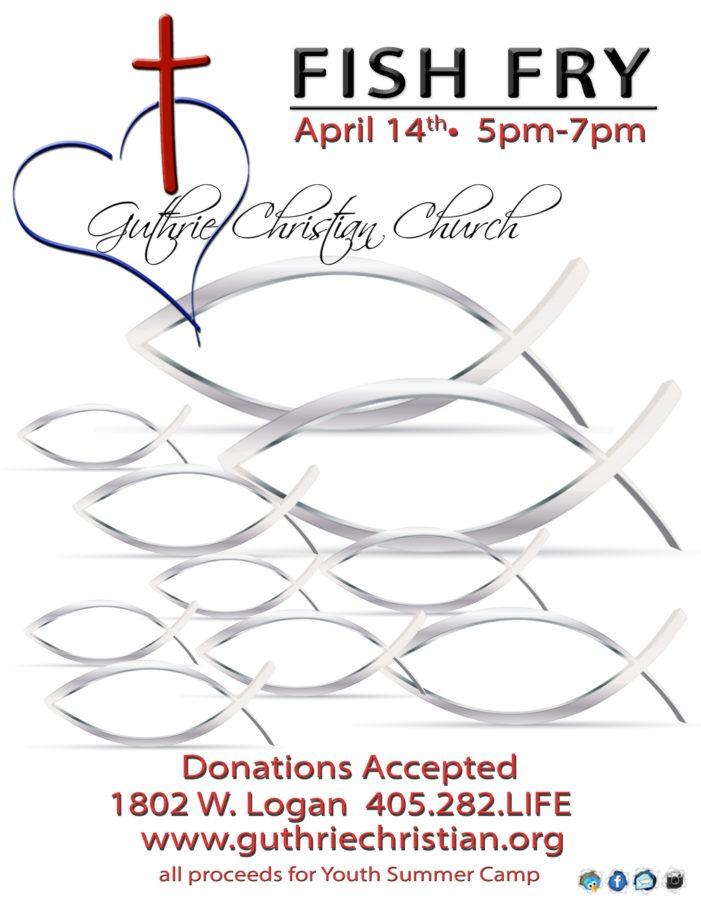 Guthrie Christian Church hosting annual Fish Fry