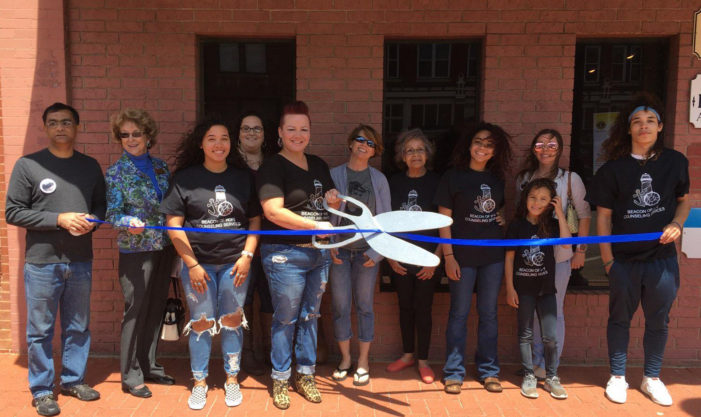 Beacon of Hope Counseling Services cuts the Chamber ribbon