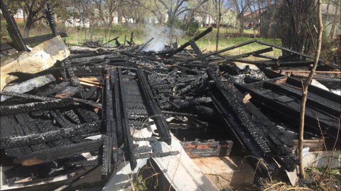 Homeowner thankful for firefighters after they save her home