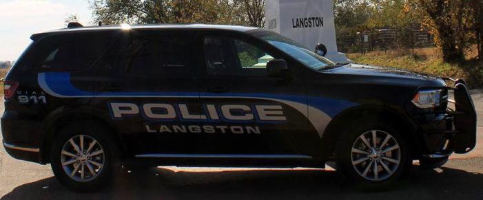 Langston names Banwart Chief of Police