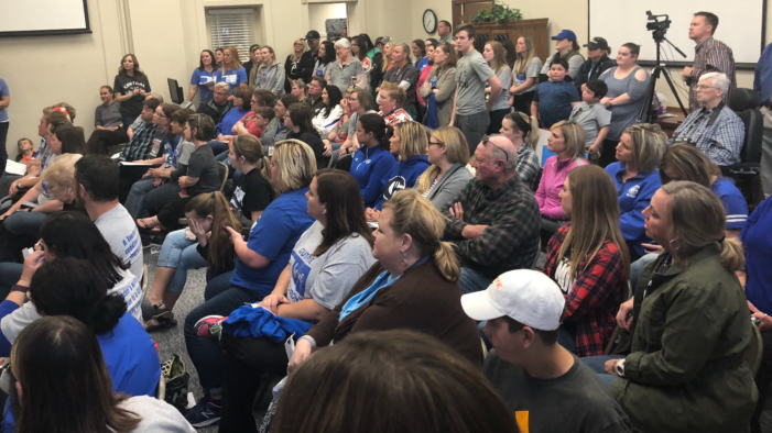 Guthrie Public Schools to close for Day 8 of teacher walkout