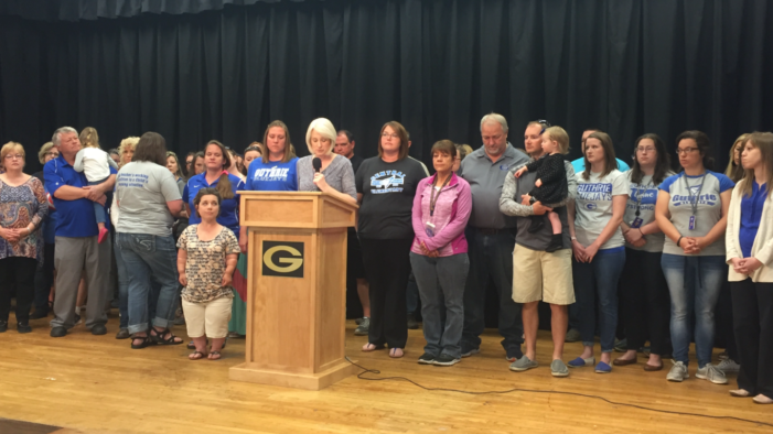 Video: Guthrie teachers, students returning back to the classroom