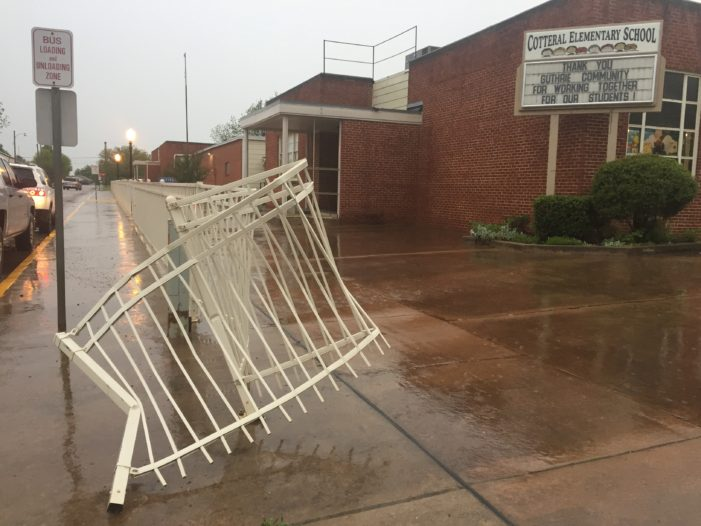 Fence damaged at school by alleged drunk driver