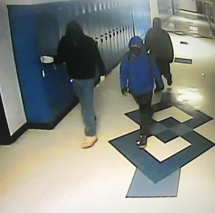 3 juveniles in custody following overnight break in at Guthrie High School