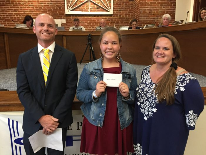 Video: Grace Mungai named Student of the Month for GPS
