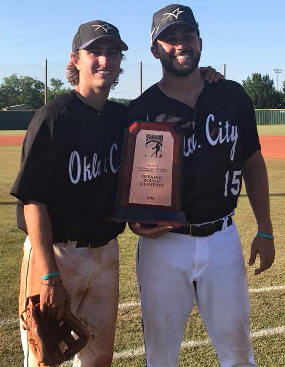 Guthrie duo to play in NAIA Baseball Championship