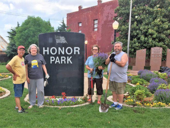 Logan County Master Gardeners beautify Honor Park