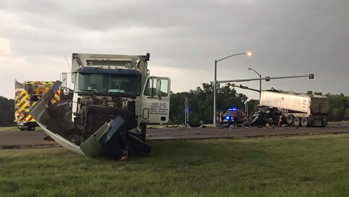 Fatality accident on Highway 74 at Waterloo Road | Guthrie