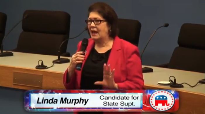 Video: State Supt. candidate takes questions at Republican forum