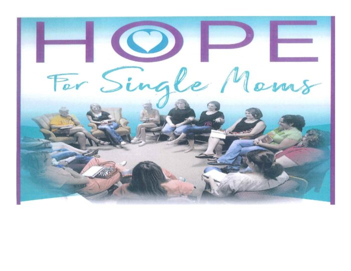 """""""Hope for Single Mom's"""" is moving to a weekly meeting"""