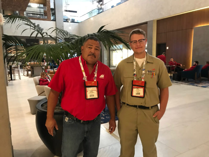 Mulhall-Orlando's Nick McVicker takes first at Oklahoma SkillsUSA contest