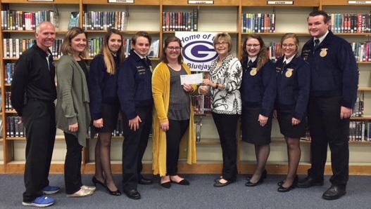 Guthrie FFA receives grant