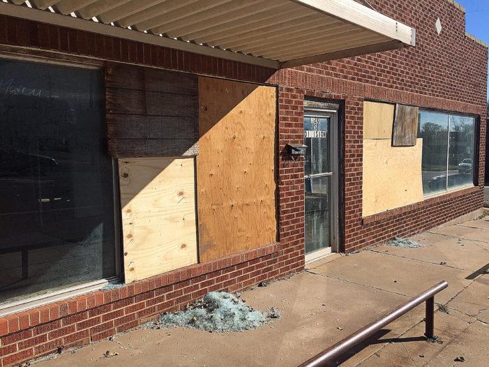BB gun vandals target car, business windows along Division Street
