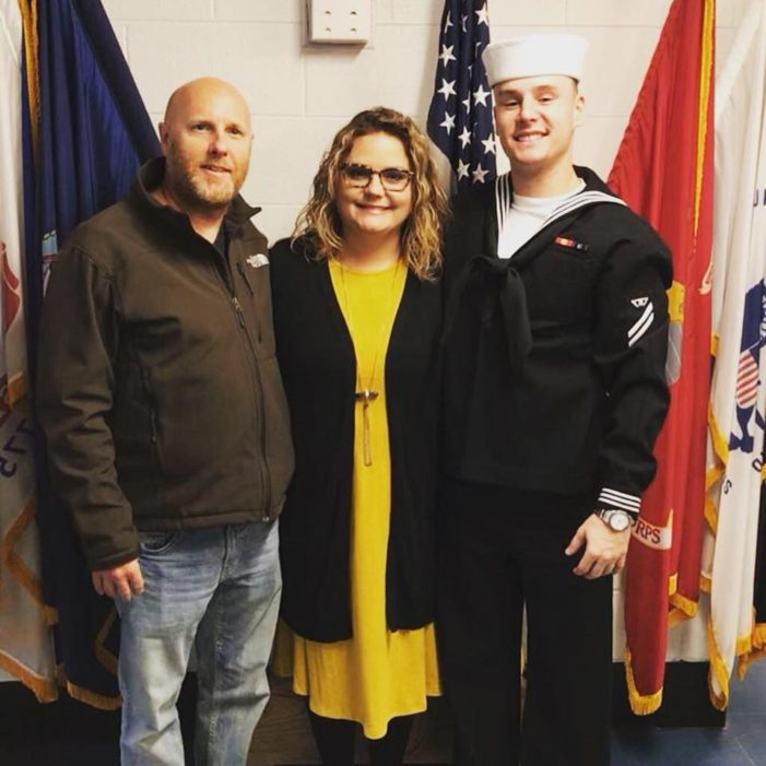Watch: U.S. Navy sailor returns home to surprise family