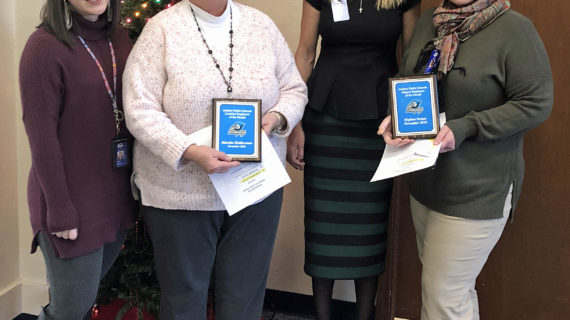 Norton, Holderman named GPS Employees of the Month