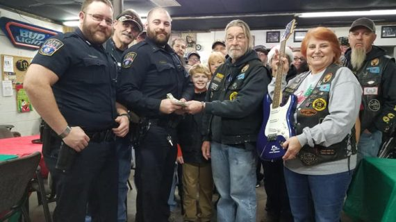 Territorial Riders donate $1,291 to help children during Christmas