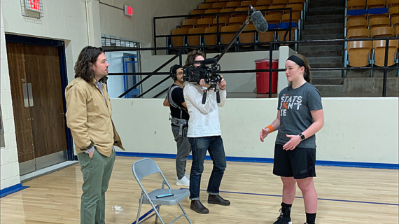 Camera crew follows Braydin Russell for upcoming documentary